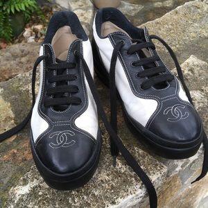 Chanel Platform Sneakers